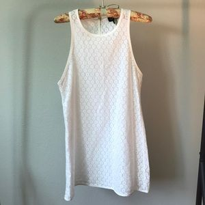 TOPSHOP Lucy Love Wild Child White Lace Dress